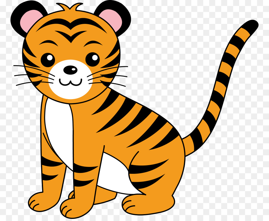 900x740 Bengal Tiger Cat Golden Tiger Clip Art