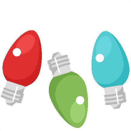 432x432 Light Bulb Clip Art For Christmas Fun For Christmas