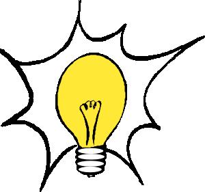 300x281 Lightbulb Clip Art