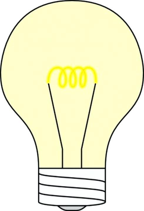 490x716 Free Light Bulb Clip Art Light Bulb Clip Art Free Clip Art Free