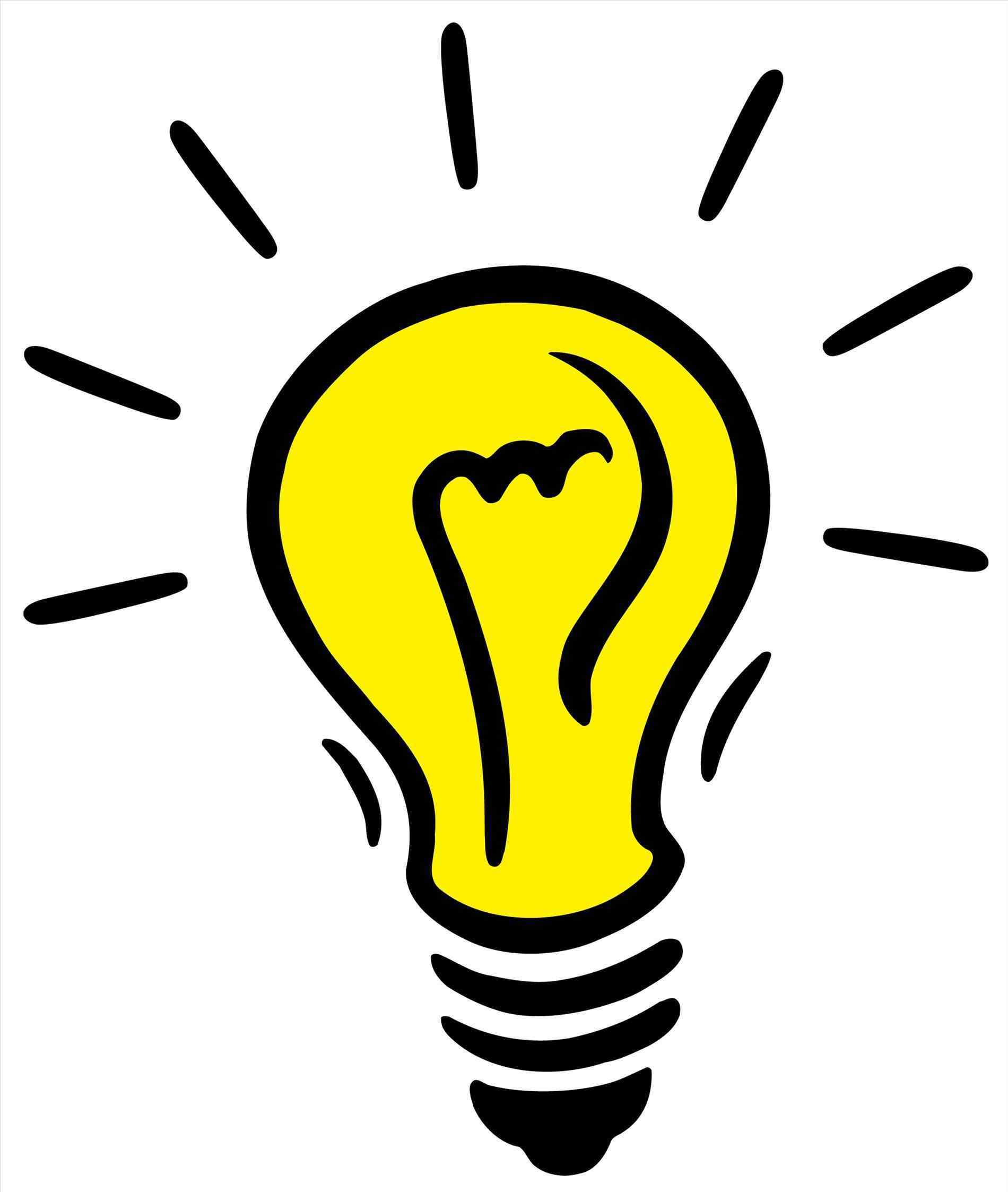 1900x2246 Bulb Clipart Transparent Background Pencil And In Color