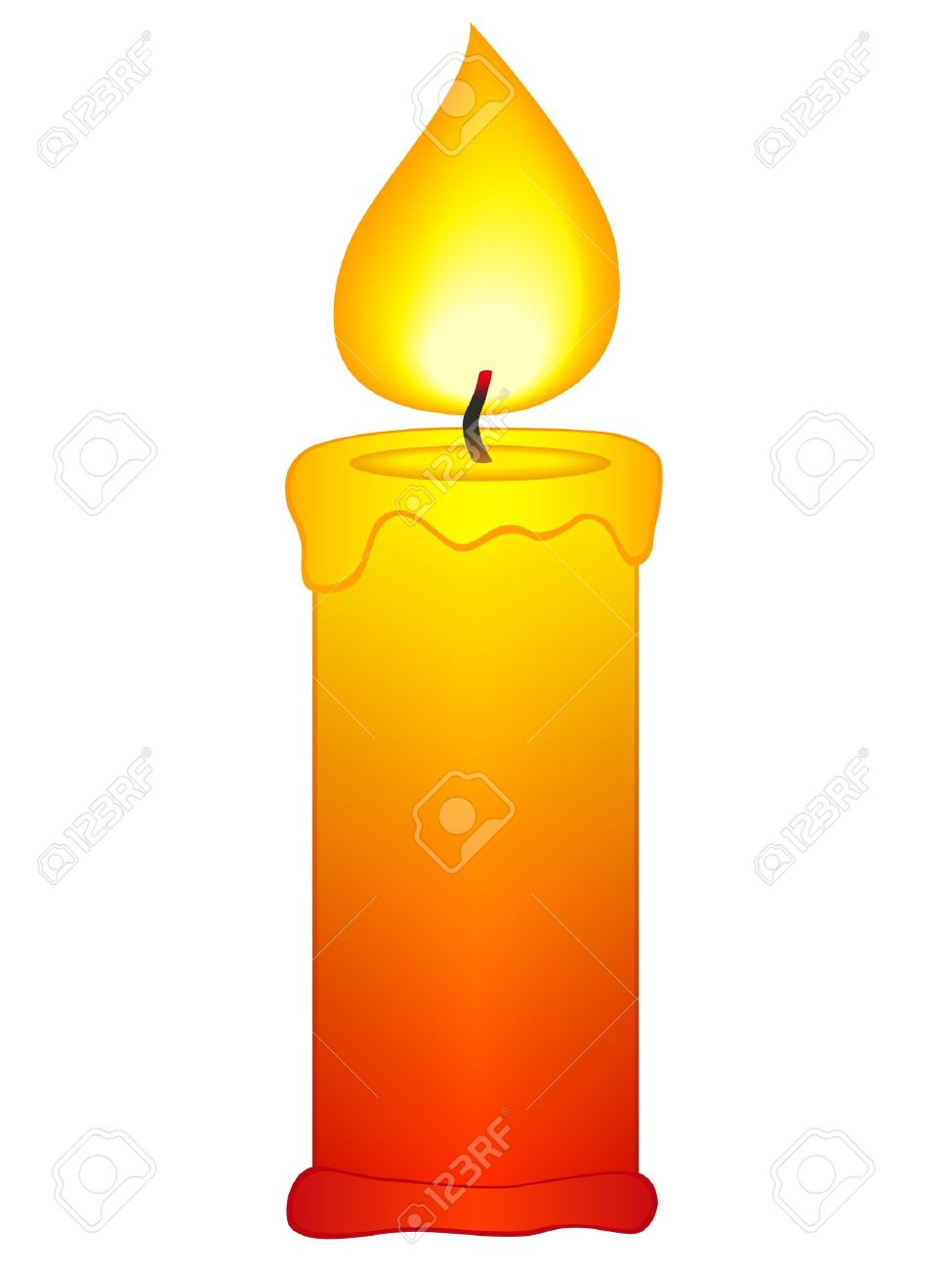 975x1300 Candle Light Clipart Clip
