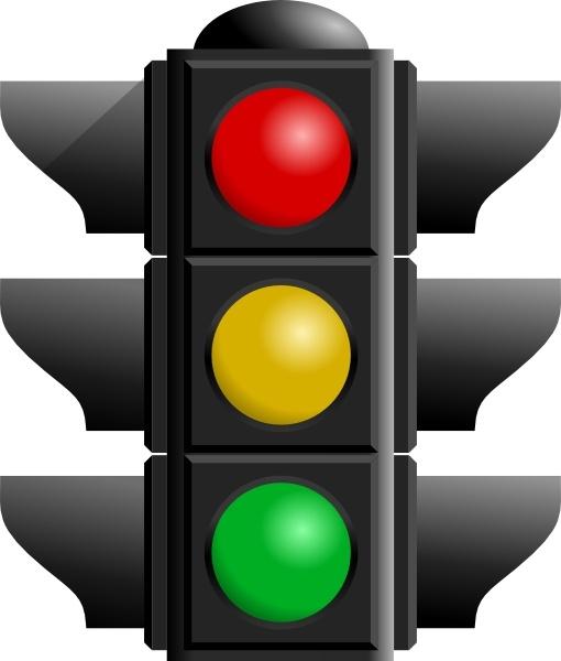 510x600 Traffic Light Clipart Traffic Light Clip Art Free Vector In Open