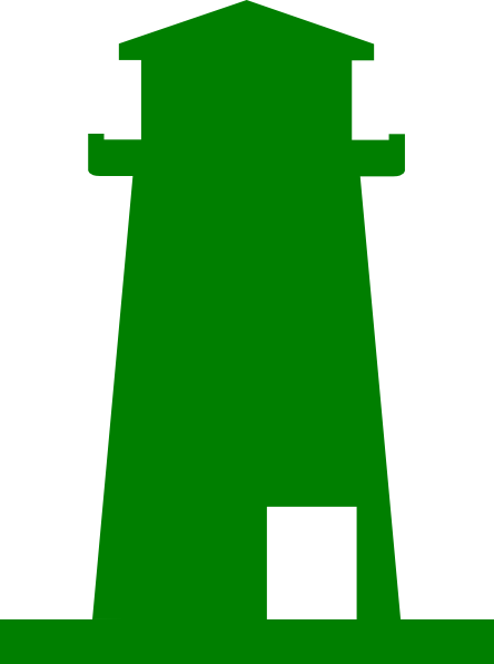 444x596 Green Lighthouse Png Clip Arts For Web