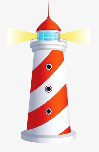 326x500 Lighthouse, Cartoon, Colour, Red Png Image And Clipart For Free