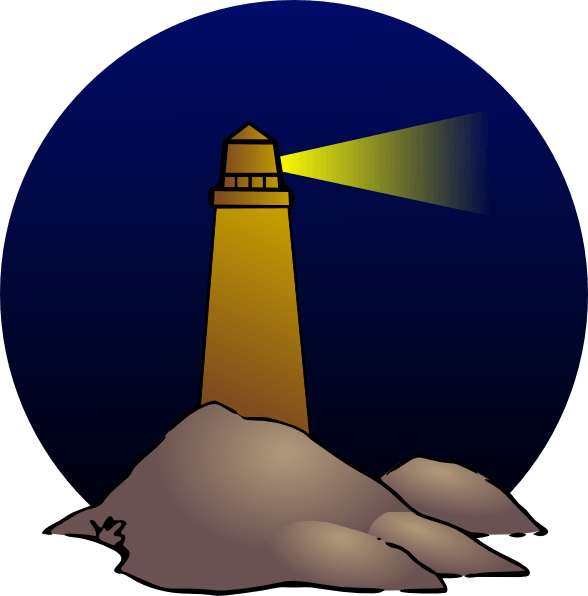 588x596 Lighthouse Cliparts