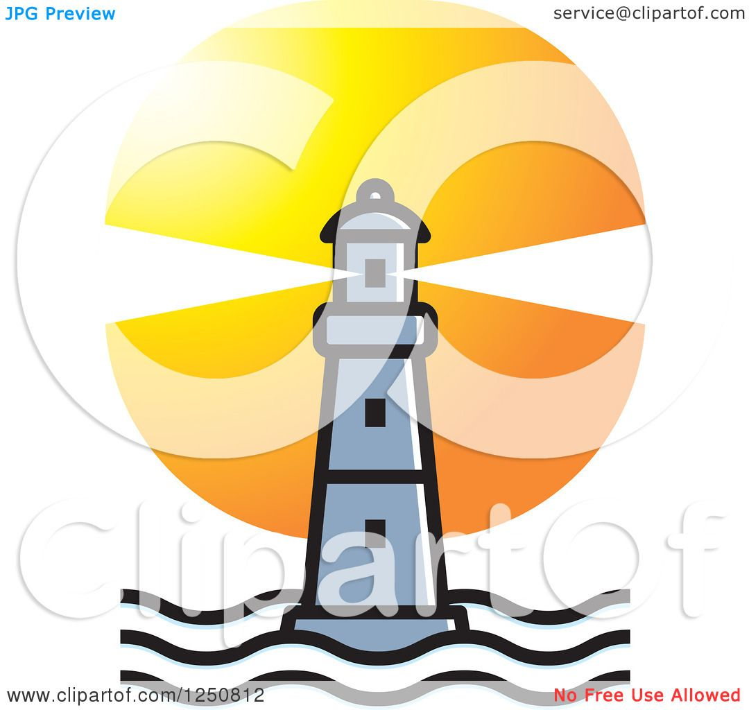 1080x1024 Sunset Lighthouse Clipart, Explore Pictures