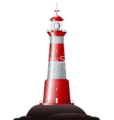 380x400 Fancy Light House Clip Art