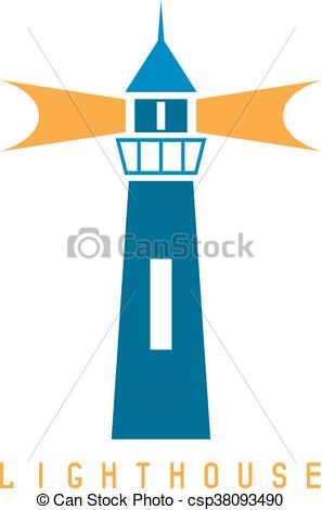 297x470 Concept Vector Template With Lighthouse In Flat Design Eps Vectors