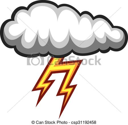 450x440 Cloud And Lightning Bolt Icon (Dark Cloud And Thunder Bolt