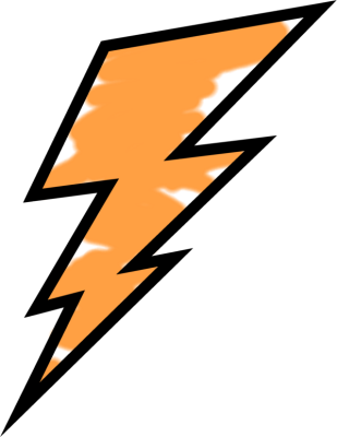 lightning bolt clipart at getdrawings com free for personal use rh getdrawings com lightning bolt clip art black and white lightning bolt clip art images