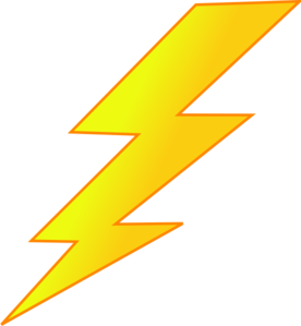 276x299 Lightinging Strike Lightning Bolt Clip Art
