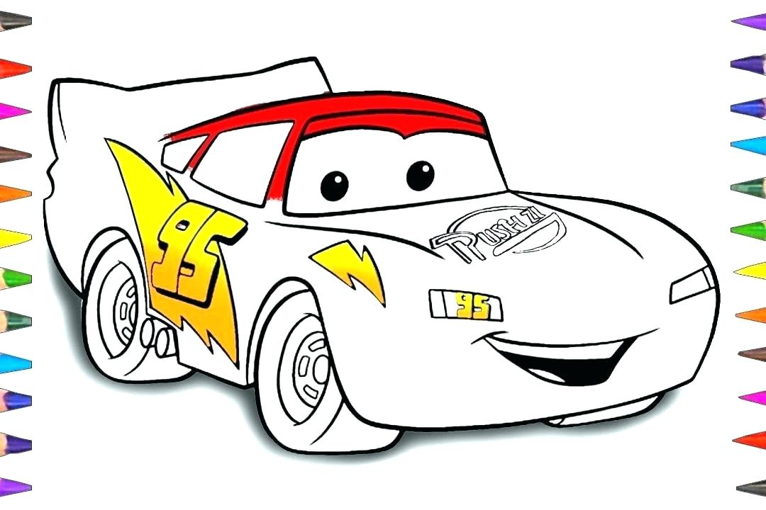 1080x720 Coloring Pages Lightning Mcqueen Of