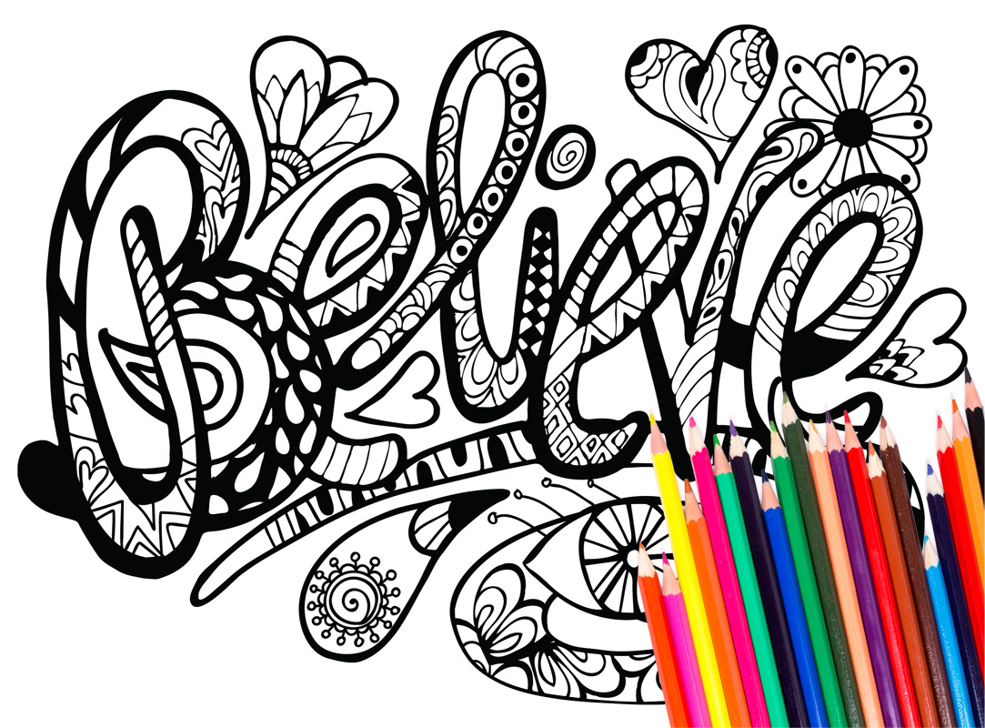 1083x800 Imagination Inspirational Word Coloring Pages