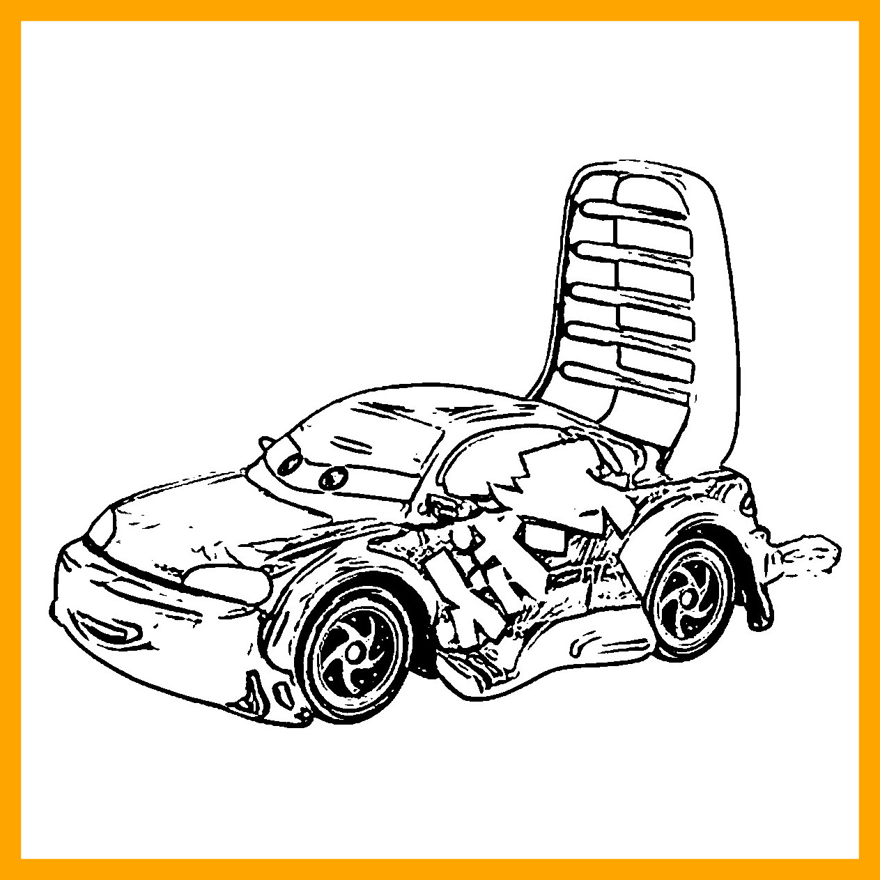 1263x1263 Shocking Disney Cars Coloring Pages Funycoloring Picture For Trend