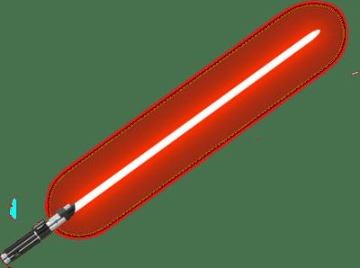 400x298 Red Lightsaber Starwars