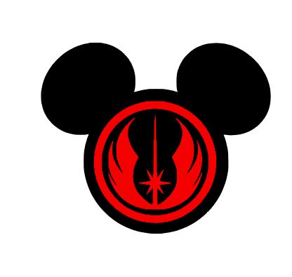 416x396 Jedi Mickey Clipart