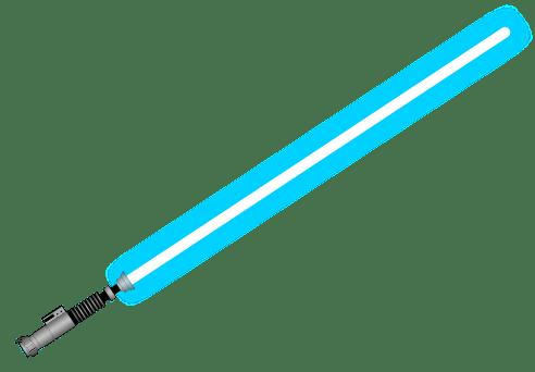 492x342 Blue Lightsaber Transparent Png