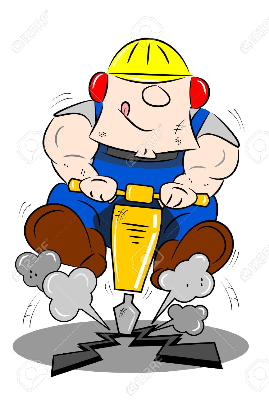 866x1300 Industrial Worker Clipart Workman