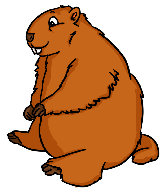 706x815 Lovely Groundhog Clipart Free Clip Art The Cliparts
