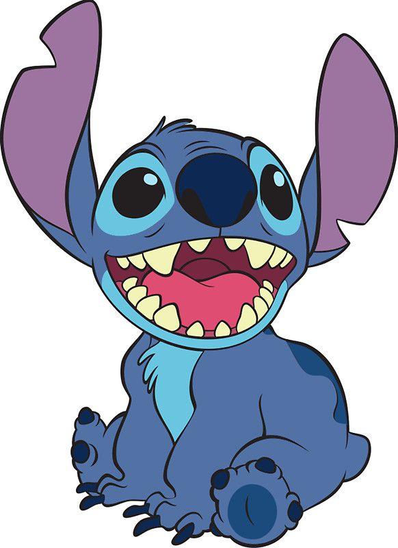 582x800 Stitch' Sticker By Alyssacutting Stitch, Lilo Stitch And Disney