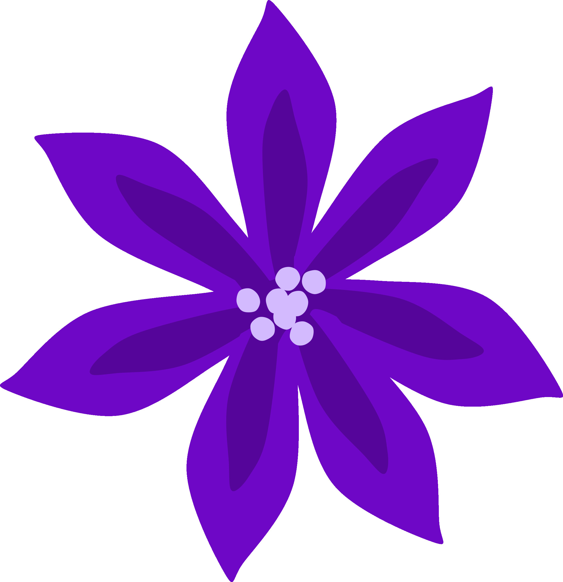 2240x2313 Fresh Gallery Of Purple Flower Png Clip Art Image Bright Clipart