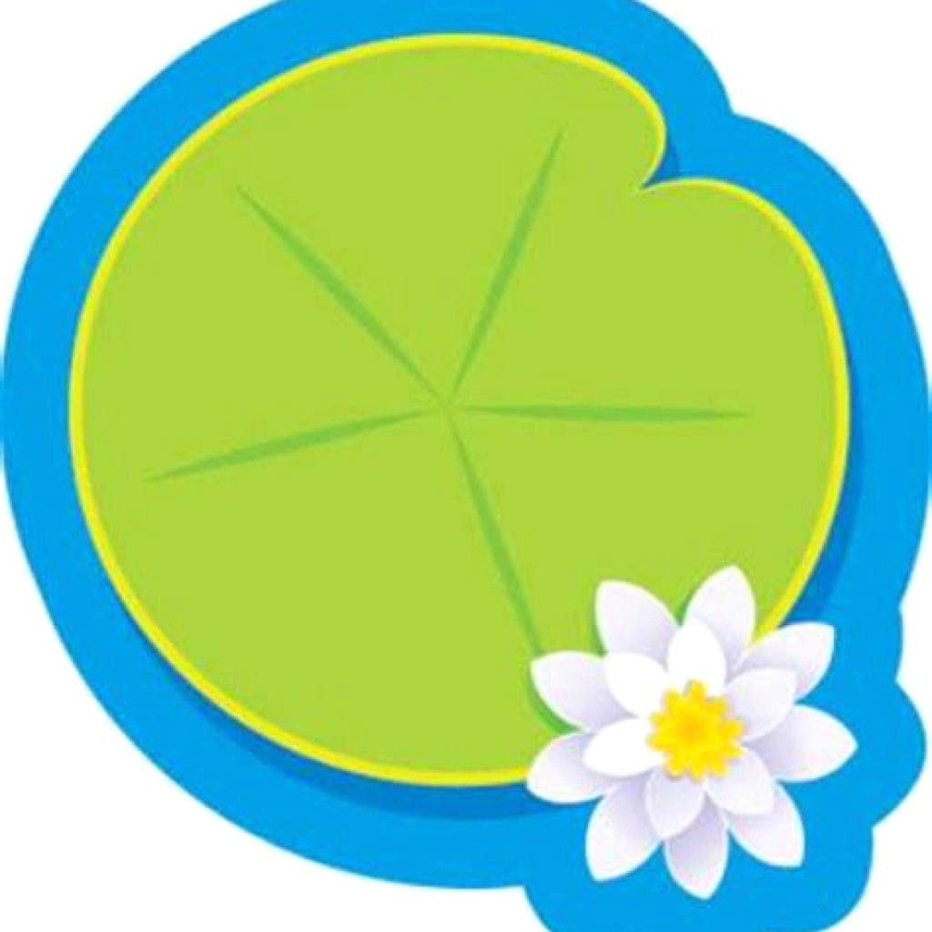 1024x1024 Lily Pads Clip Art