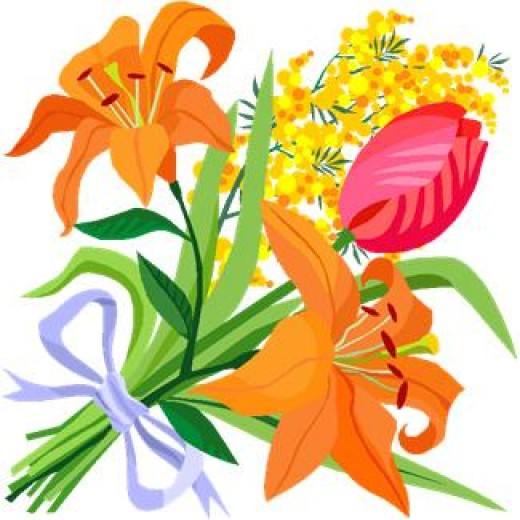 520x520 Top 98 Spring Flowers Clip Art