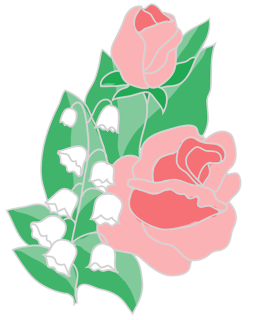 263x320 Free Flower Clipart Roses Lilies Of The Valley Clip Art Flowers