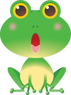 236x313 Cute Green Frog Cartoon On A Lily Pad Illustration 33233016