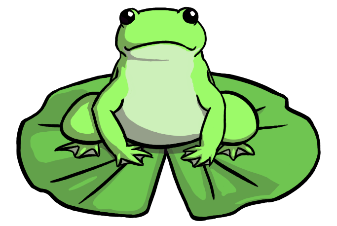 683x458 Lily Pad Clipart Image Of Frog Lily Pad Clipart 11367 Frog