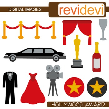 350x350 Clip Art Hollywood Award (Red Carpet Party, Tuxedo, Limousine, Red