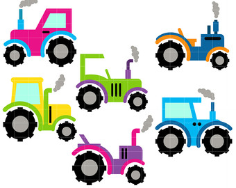 340x270 Colorful Car Clipart Etsy