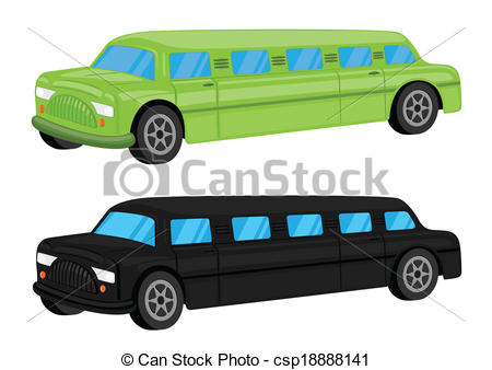 450x338 Green Black Limousine Car Vehicle Cartoon