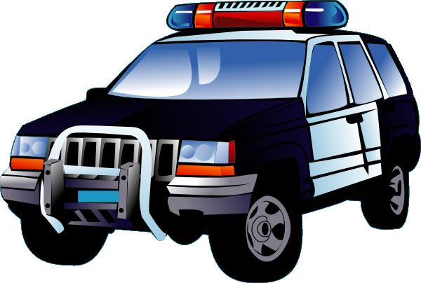 600x404 Police Car Clip Art Free Vector 4vector