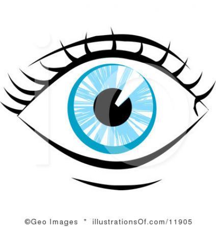 424x445 Free Clipart Eyes Human Eye Clip Art Clipart Panda Free Clipart