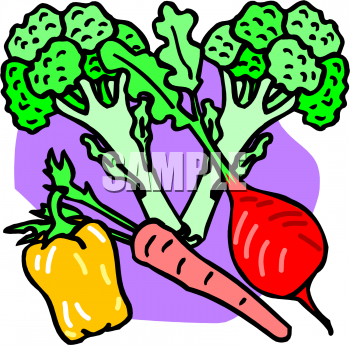 350x345 Vegetables Clipart Line Art