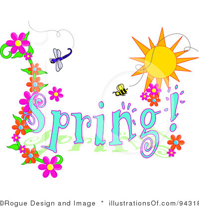 400x420 Charming Free Spring Clipart Images Clip Art Lines Panda