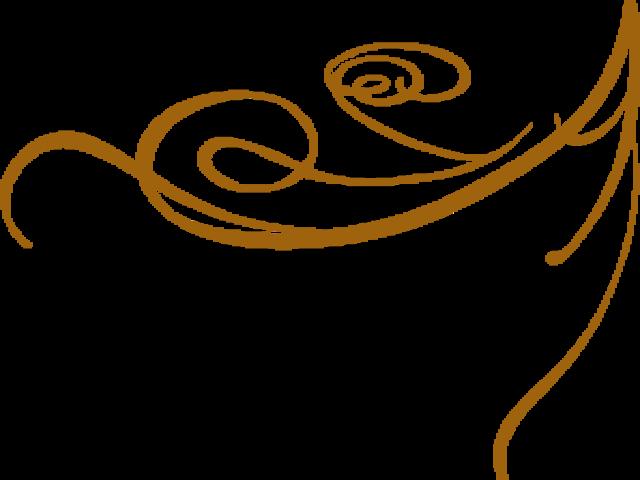 640x480 Decorative Line Gold Clipart Baroque