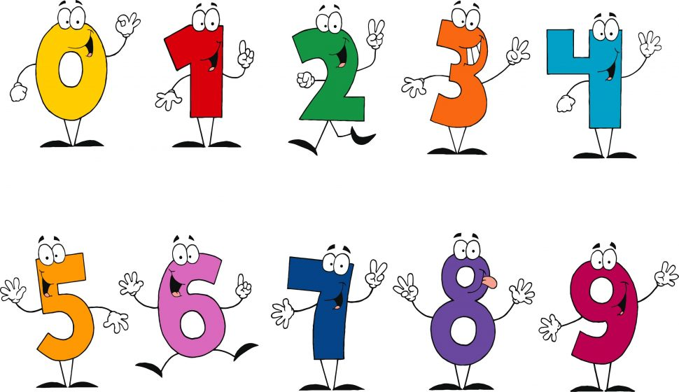 970x560 Kids Funny Number Cliparts Free Download Clip Art Line Numbers