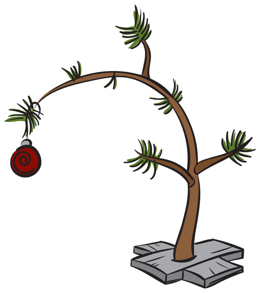 888x1000 Linus Christmas Tree Coloring Page