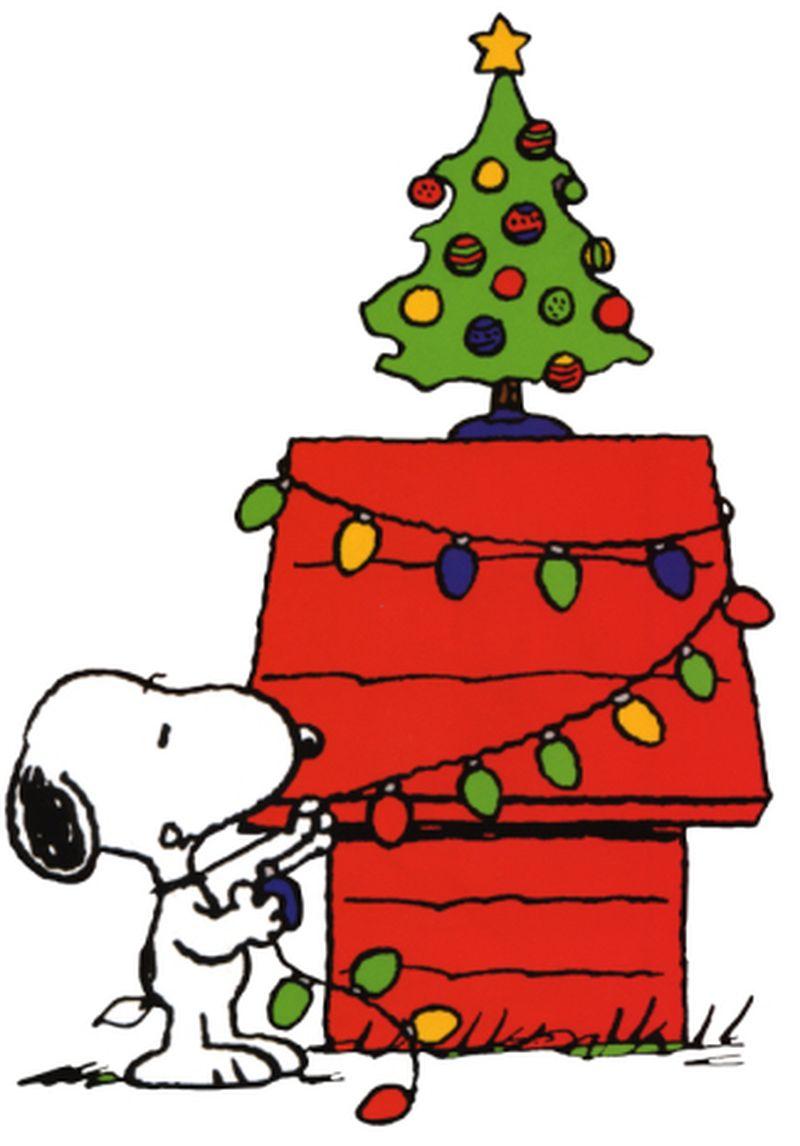 800x1146 Peanuts Clip Art Christmas Clipart
