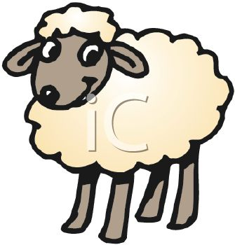 335x350 Clipart Lamb