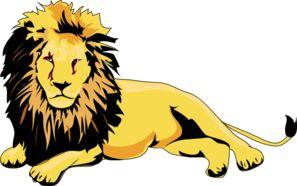 297x186 14 Best Lamb Amp Lion Images On Clip Art, A Lion