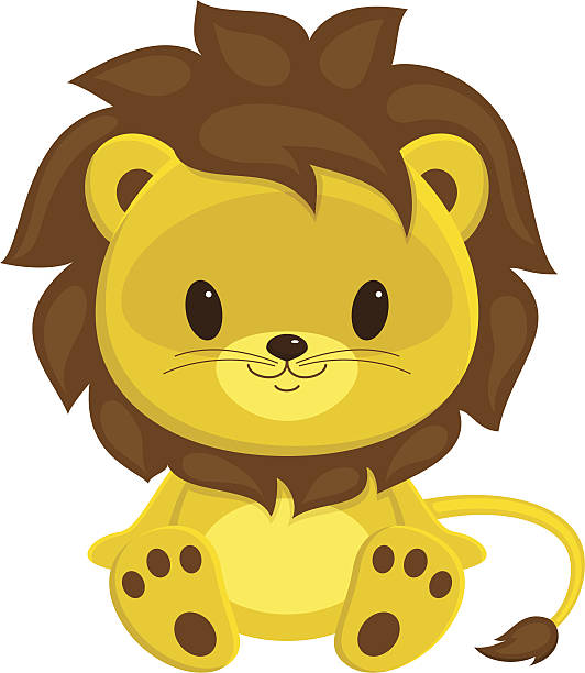 532x612 Collection Of Baby Lion Cub Clipart High Quality, Free