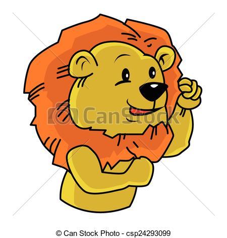 450x470 Lion Mascot Eps Vectors