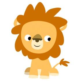 280x280 Cute Lion Clipart Animal Cute Lion Clipart