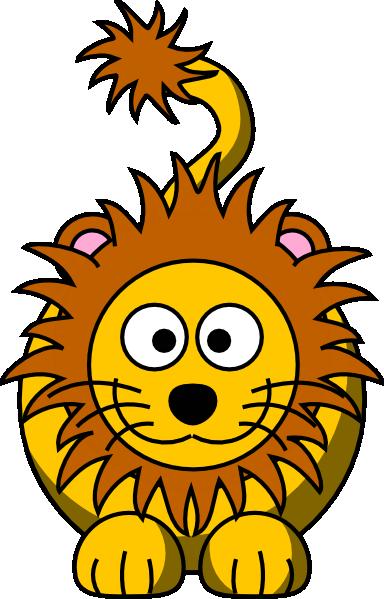 384x599 Cartoon Lion Clip Art Vector Clipart Panda