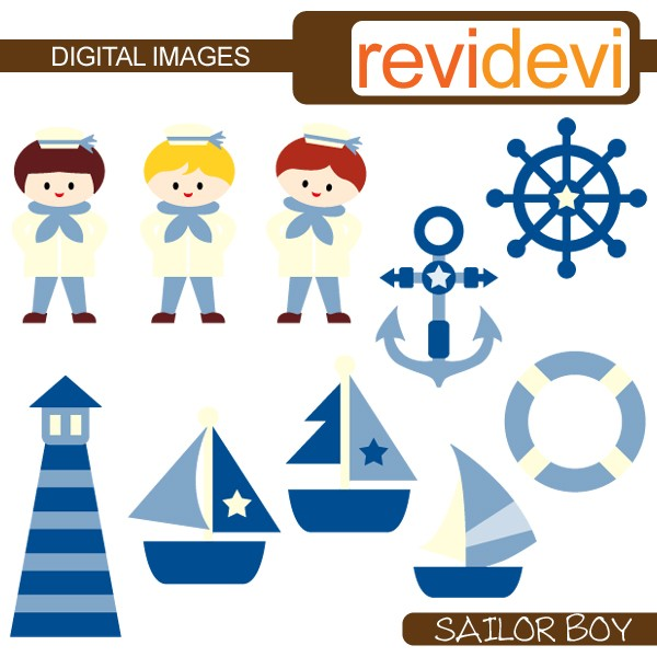 600x600 Sailor Clipart Kid
