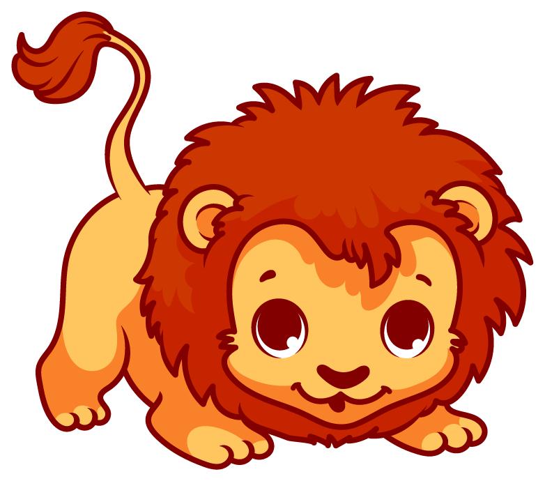 782x690 Lion Cartoon Clip Art